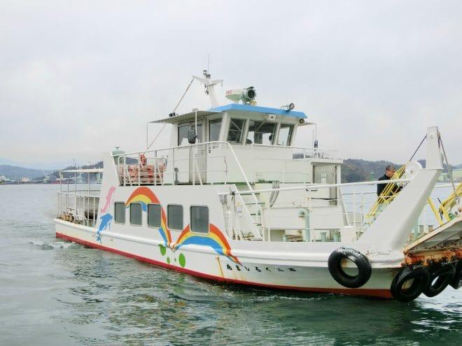 波止浜-小島間の船