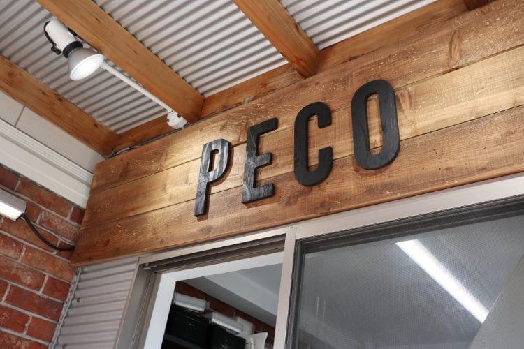 ペコ お店のロゴ