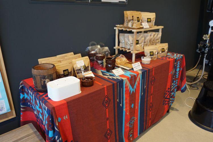 GBCチョコレートファクトリー店内 コーヒー2