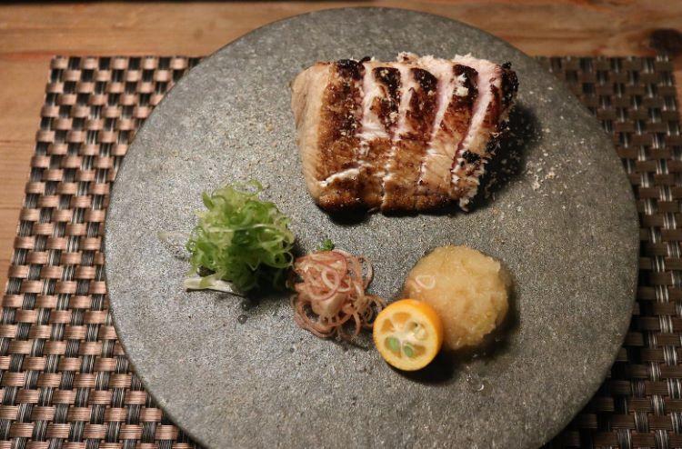 筵 天然鰤藁焼き1