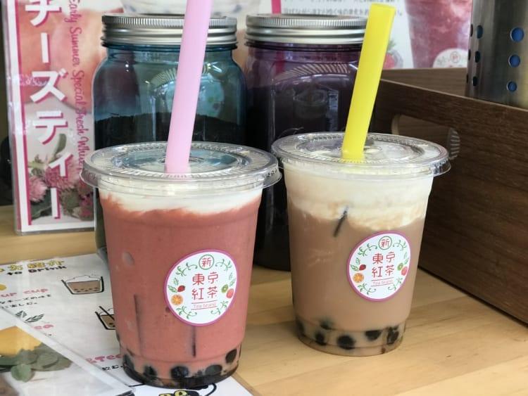 新東京紅茶 ドリンク2種類