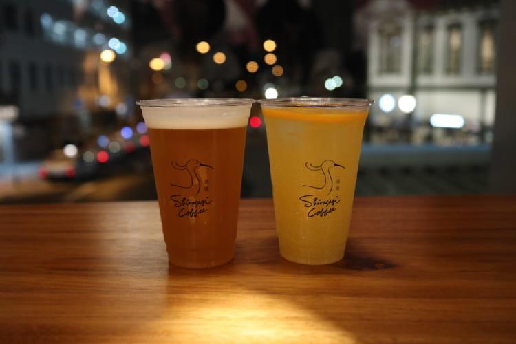 白鷺珈琲 クラフトビールとみかんハイボール