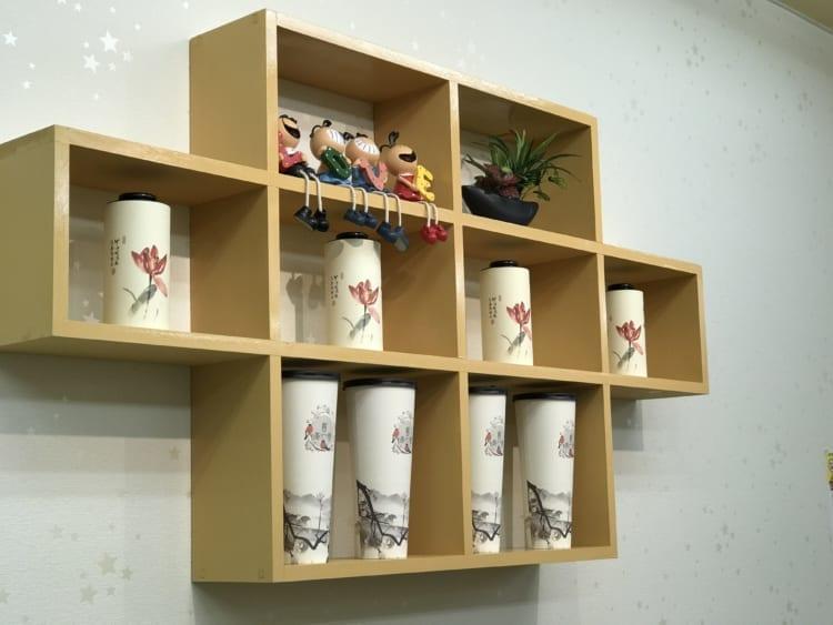 茶一巷 壁の飾り