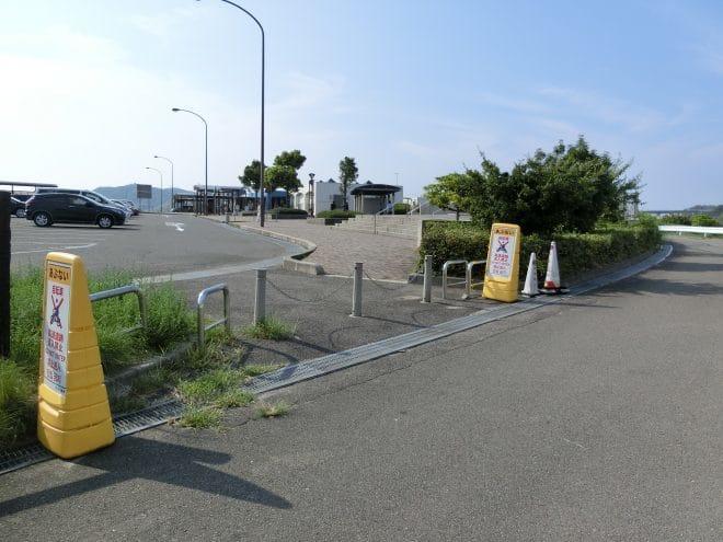来島海峡SA徒歩入り口