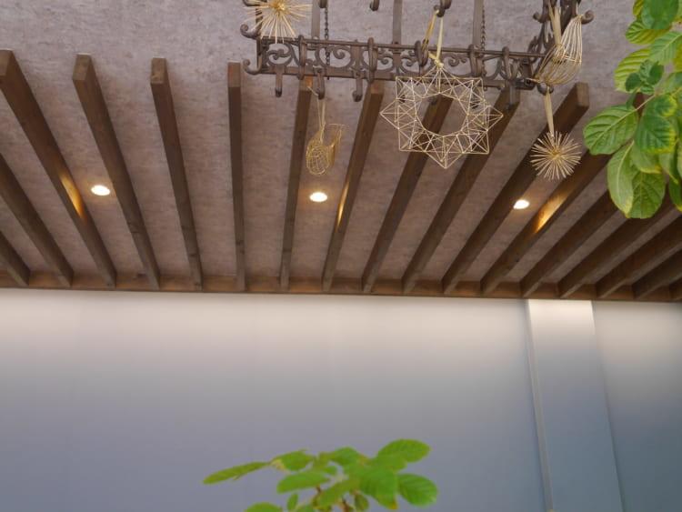 Cafe Flare 天井のインテリア