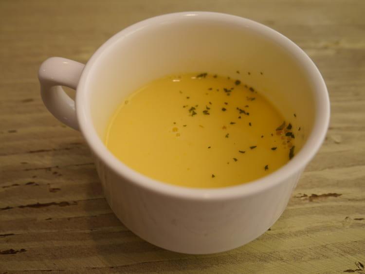 Cafe Flare コーンスープ