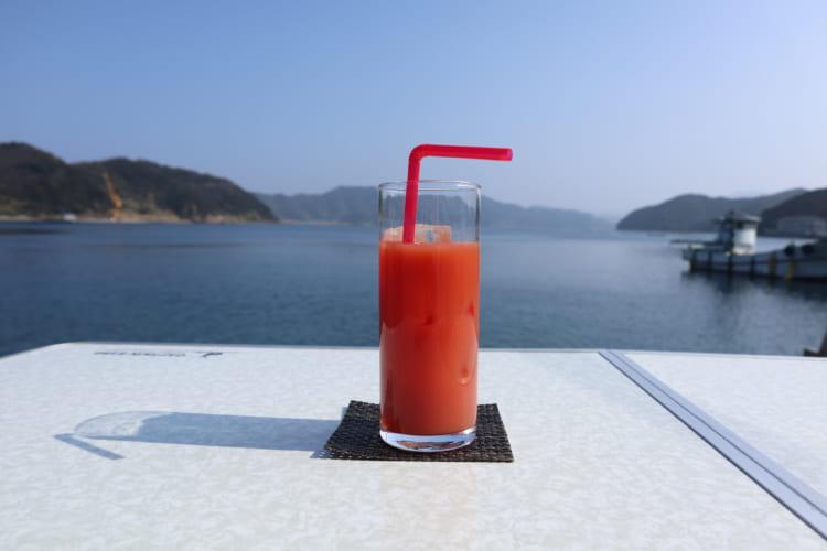 こもてらす ブラッドオレンジジュース2