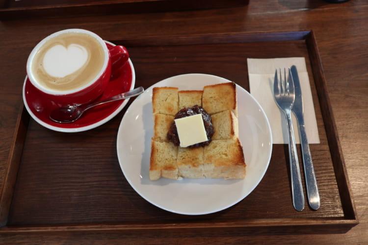 ユノマコーヒーあんバター