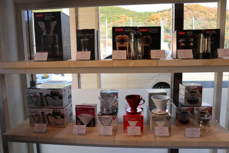 ユノマコーヒーコーヒー器具