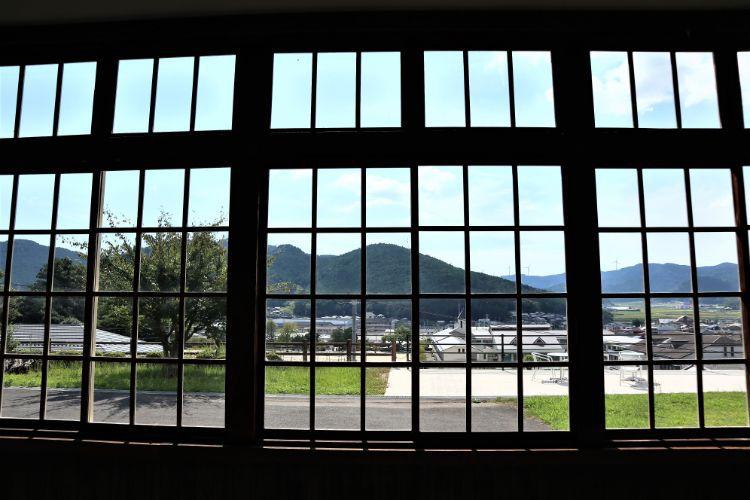 宇和米博物館 窓からの景色