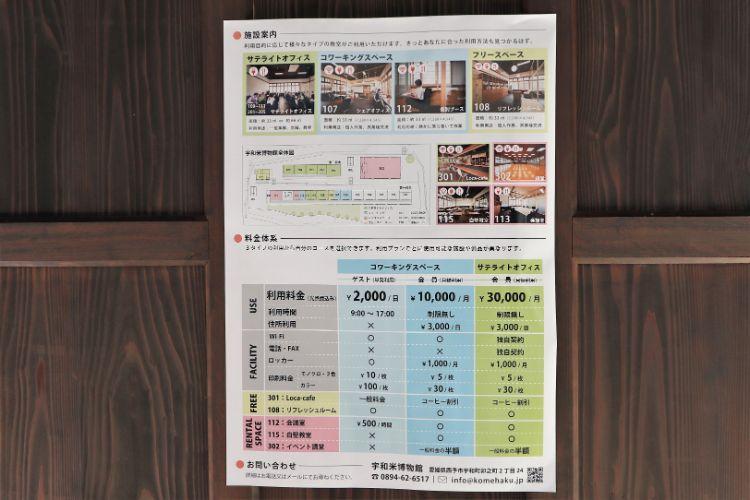 宇和米博物館 オフィスポスター2