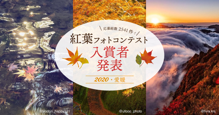 愛媛県・紅葉フォトコンテスト2020入賞者発表