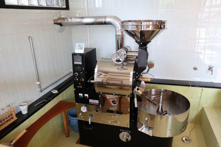 ロカカフェ 焙煎機