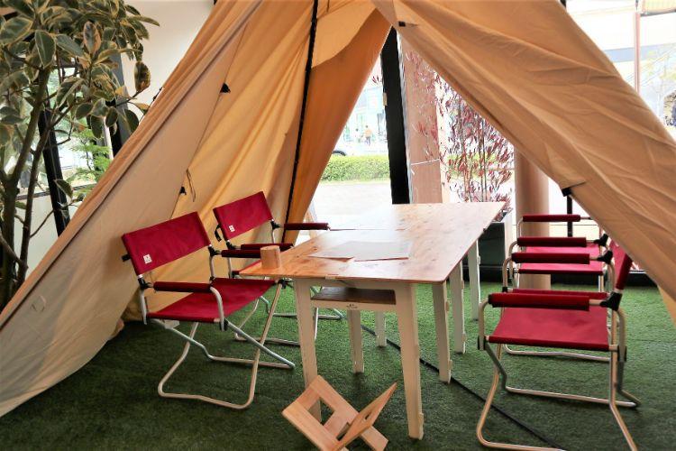 キャンプ365 座席3