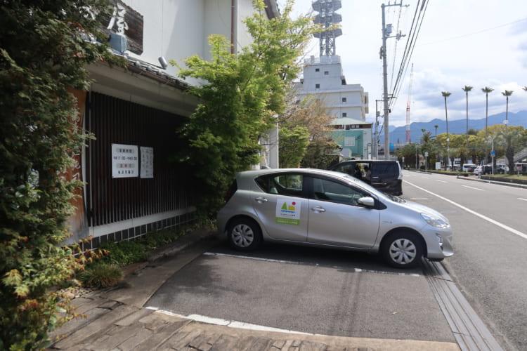 萩 駐車場4