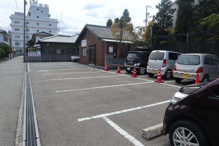 萩 駐車場1