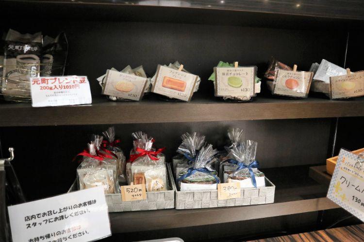 元町 焼き菓子コーナー