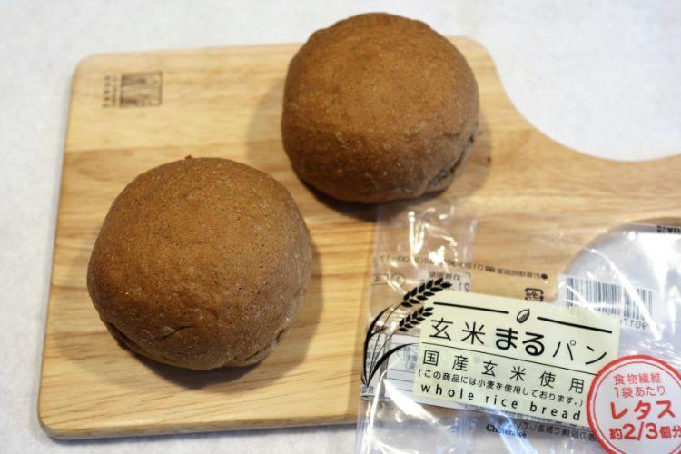 シャトレーゼ 玄米まるパン