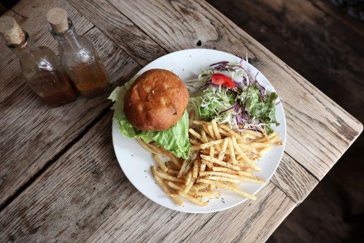 grays ランチ ハンバーガー4