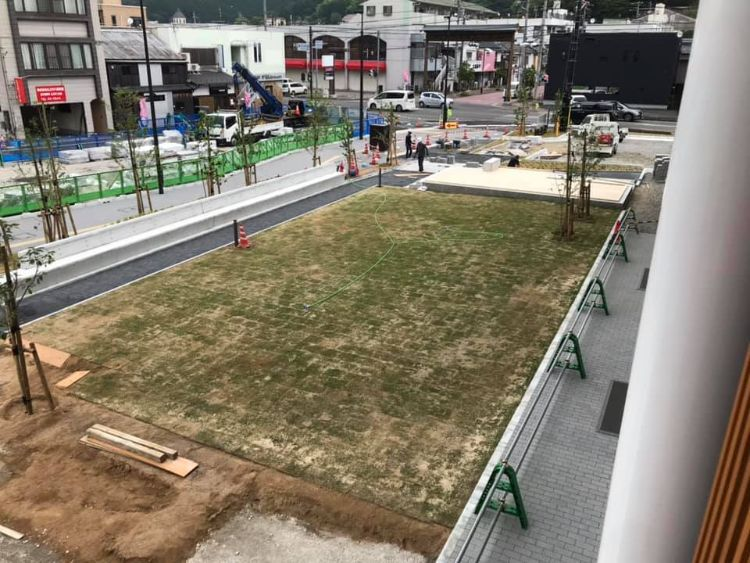 nico 緑地広場予定地