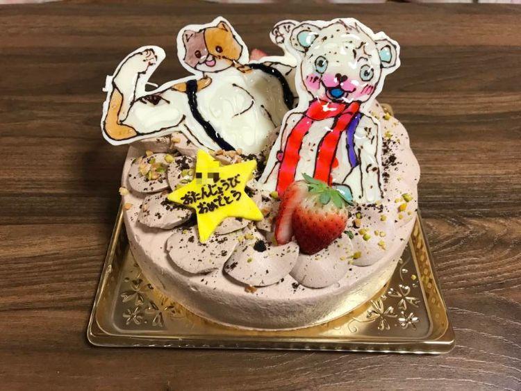 nico バースデーケーキ