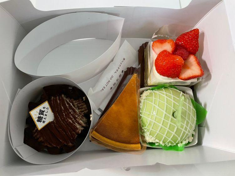 シャトレーゼ 生ケーキ購入品1
