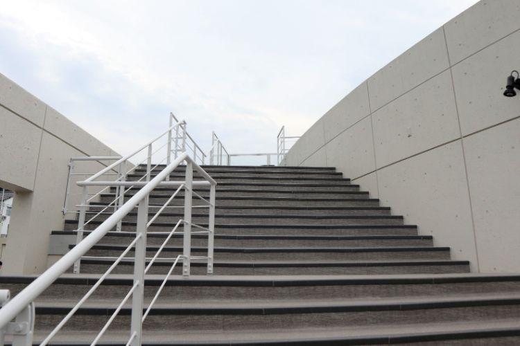 道の駅ふたみ 階段