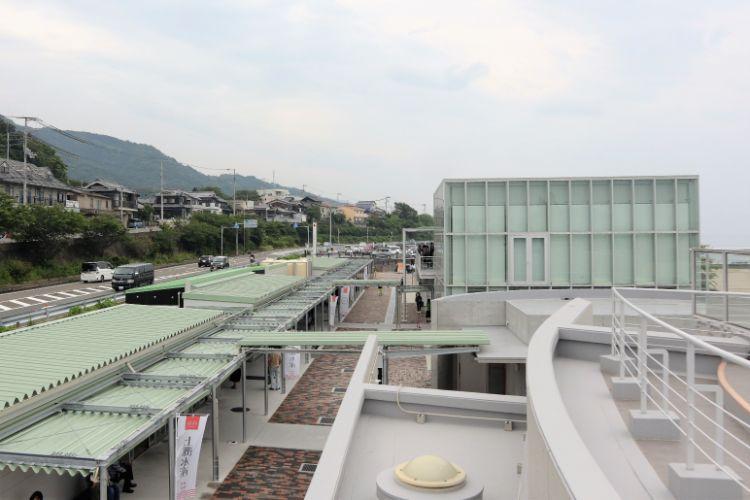 道の駅ふたみ 屋上2