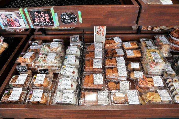 道の駅ふたみ 売店 お惣菜