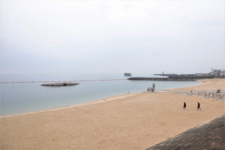 道の駅ふたみ 砂浜