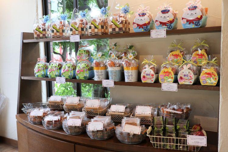 みかんカフェ 焼き菓子ギフトコーナー