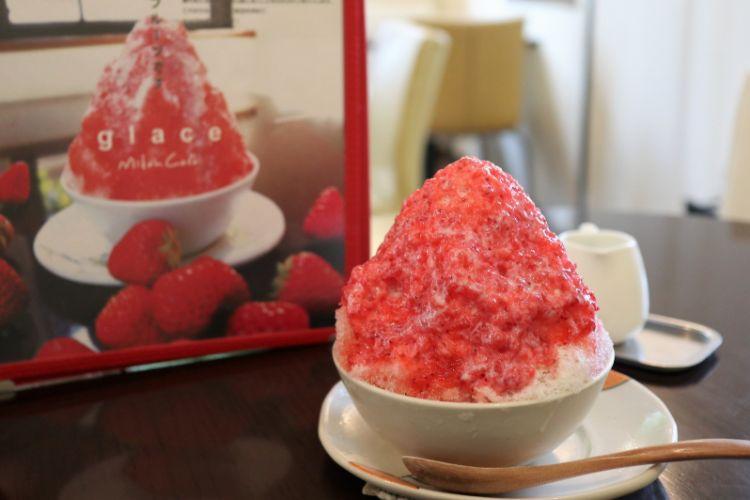 みかんカフェ いちごかき氷3