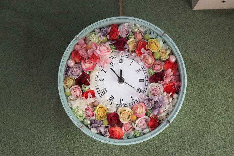 n2 店内 花時計