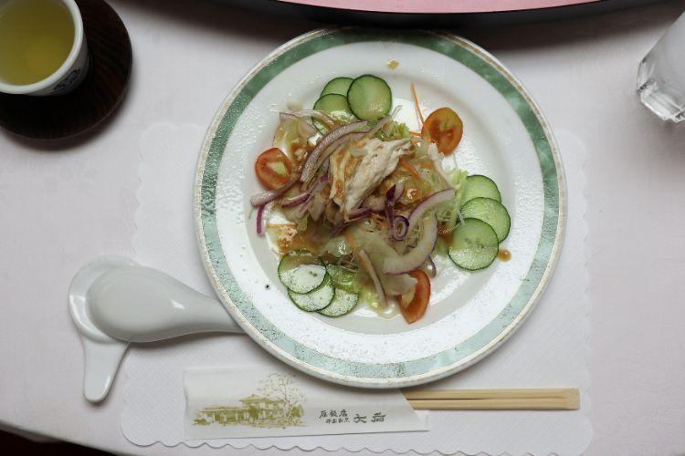 大岩 サラダ前菜