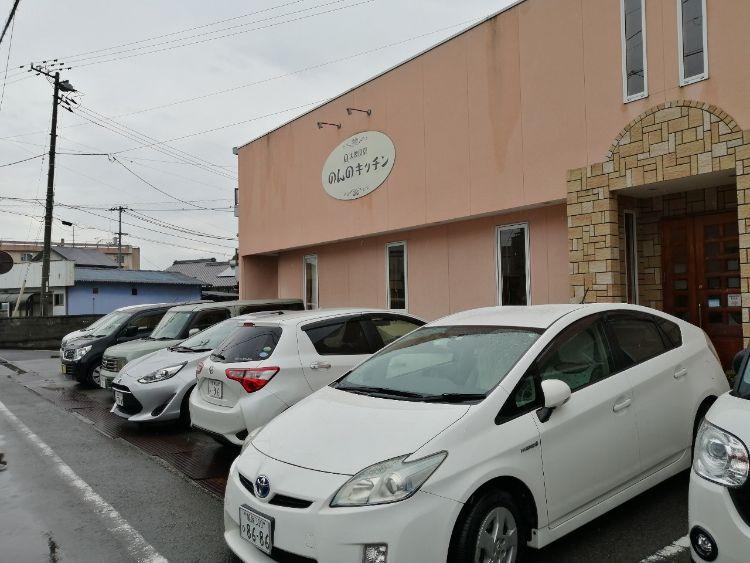 のんのキッチン駐車場