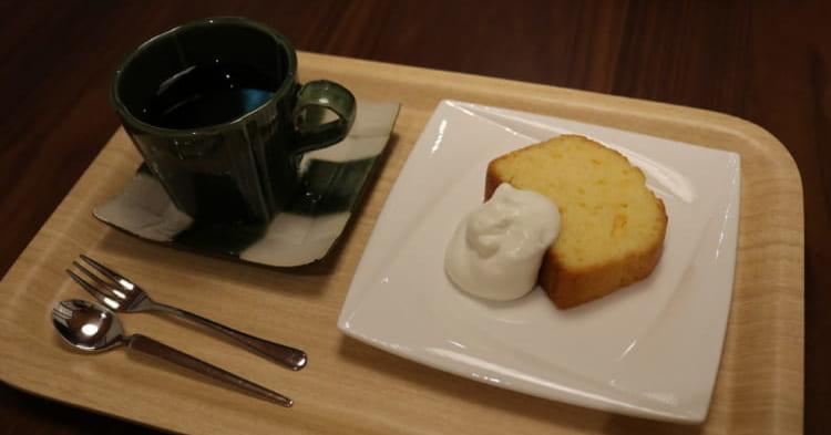 カフェつきしろのケーキセット