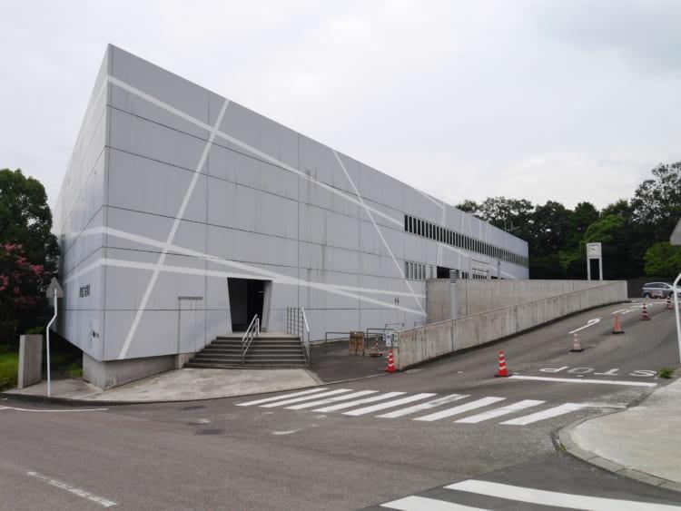 科博駐車場