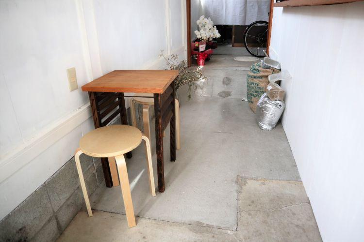 イコイコーヒー テーブル席