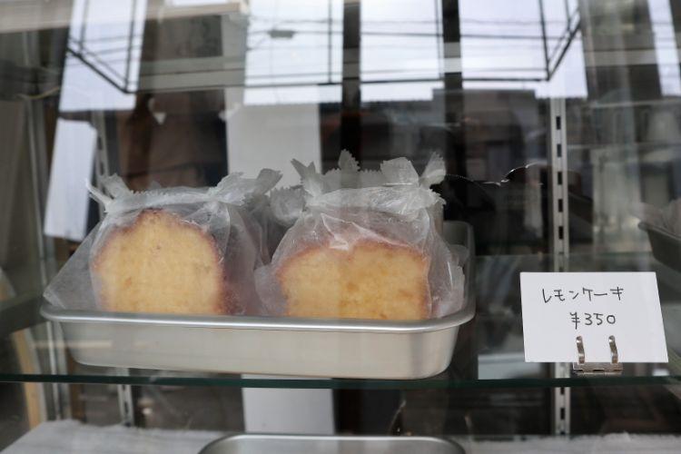 イコイコーヒー レモンケーキ