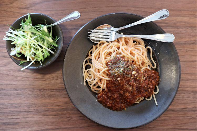 すずらん 喫茶店のミートスパゲッティ1