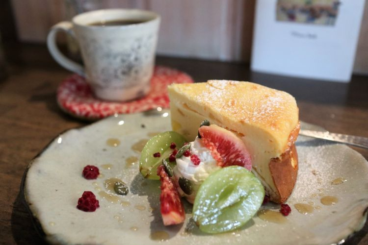 グリグラ 安納芋のチーズケーキ1