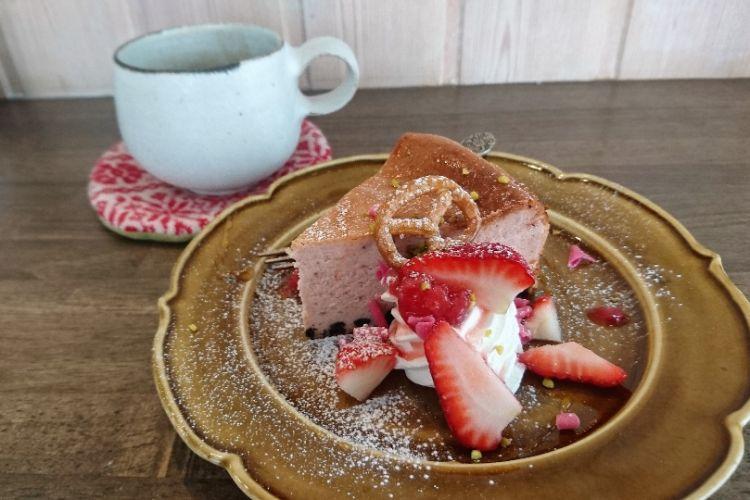 グリグラ いちごのチーズケーキ3