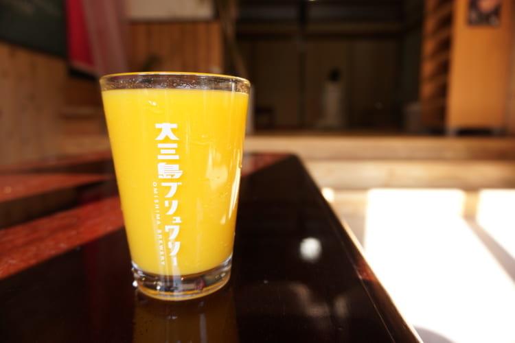 大三島ブリュワリー オレンジジュース1