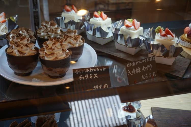 和洋菓子 心 ケーキ1