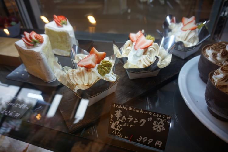和洋菓子 心 ケーキ2