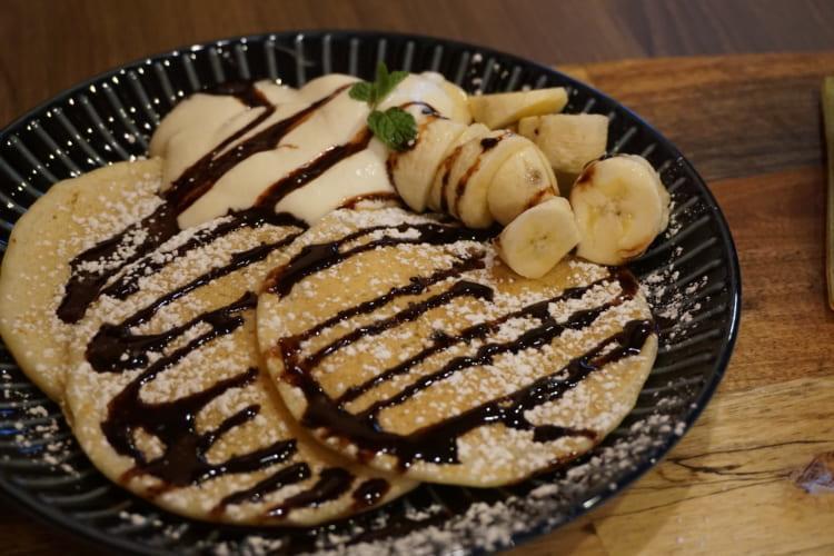 CLANXCLAN チョコバナナパンケーキ