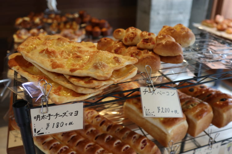 ユノマチベーカリー パン1