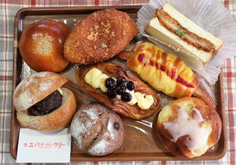 ユノマチベーカリー 購入したパン