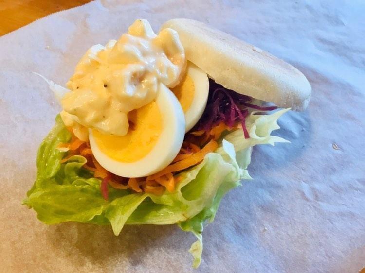 Wタマゴのサンドイッチ