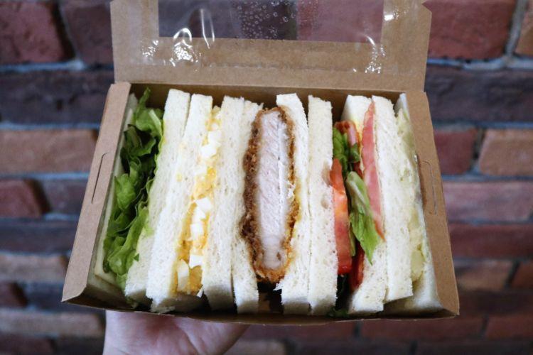 ガッキー 日替わりサンドイッチ